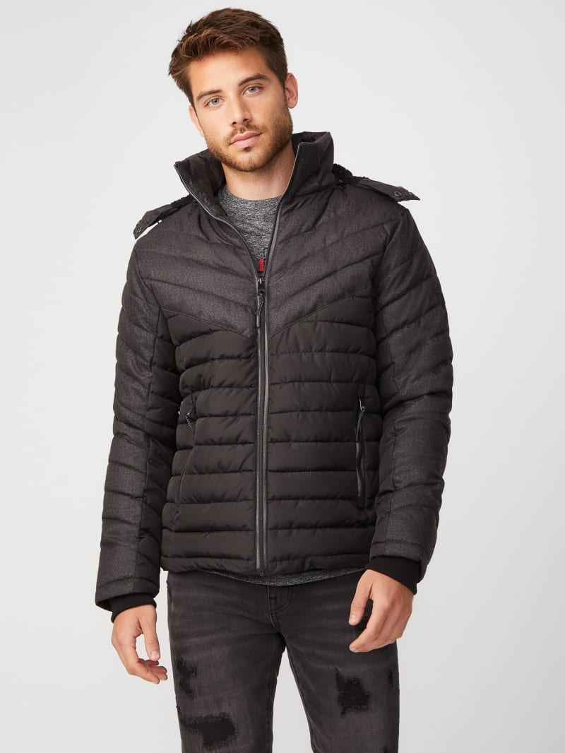 Presley Two-Tone Puffer Jacket