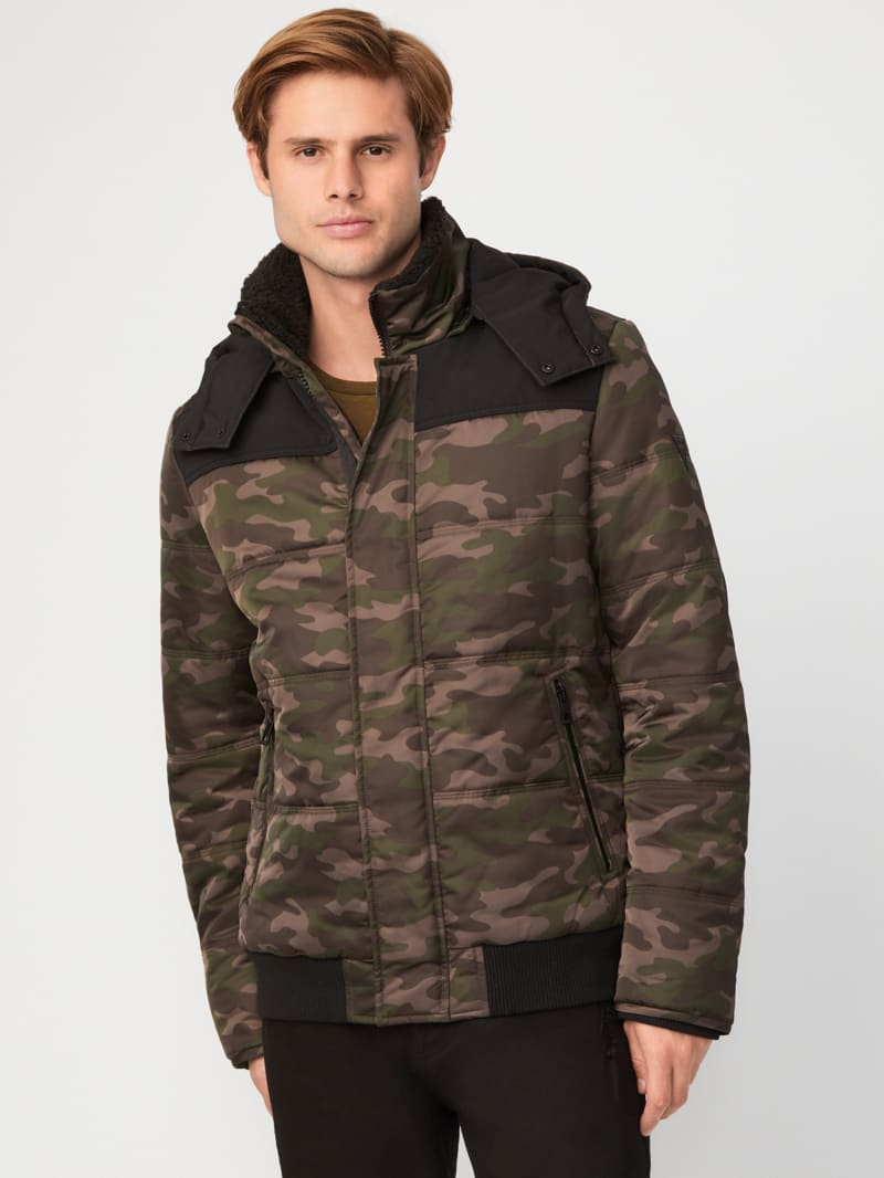 Tommy Camo Puffer Jacket