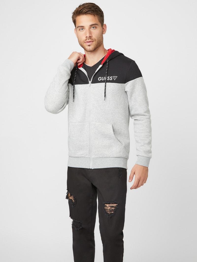 Hollin Color-Block Zip Jacket
