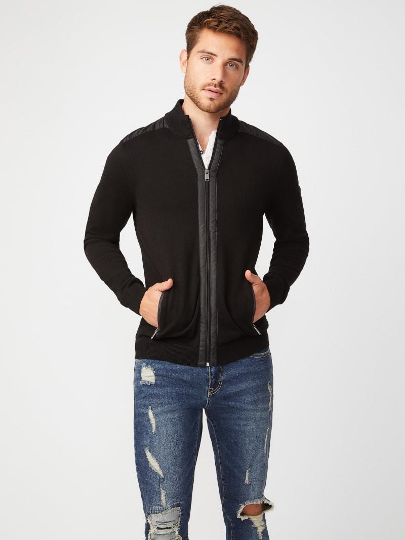Reese Zip-Up Sweater