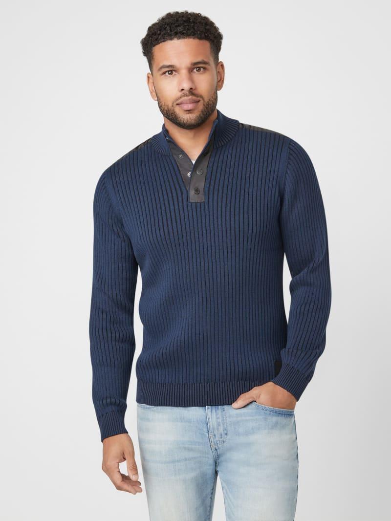Khan Mock Neck Sweater
