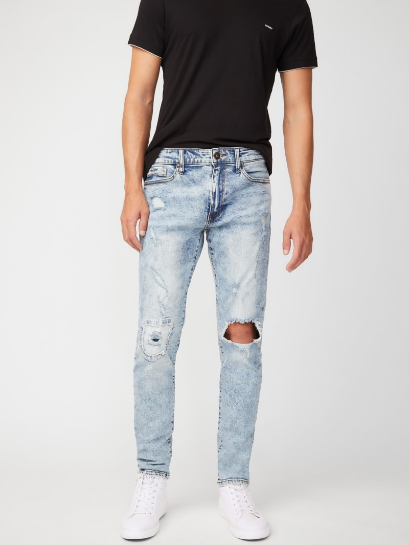Harbor Destroyed Skinny Jeans
