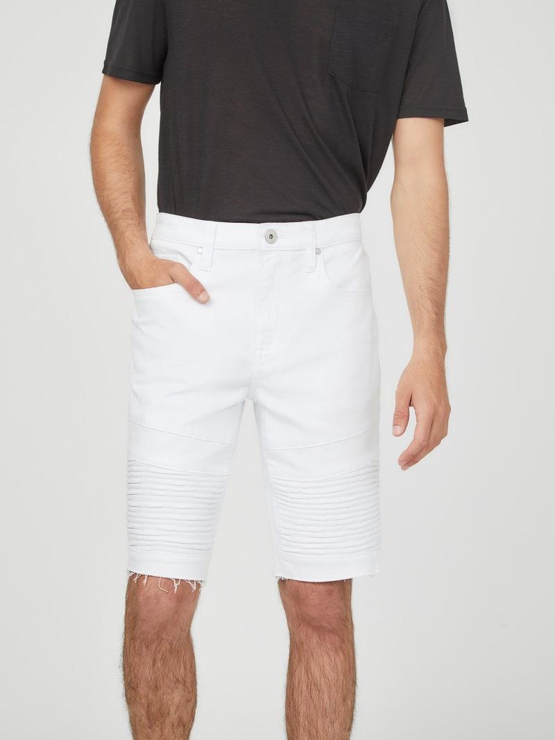 Keyes Moto Denim Shorts