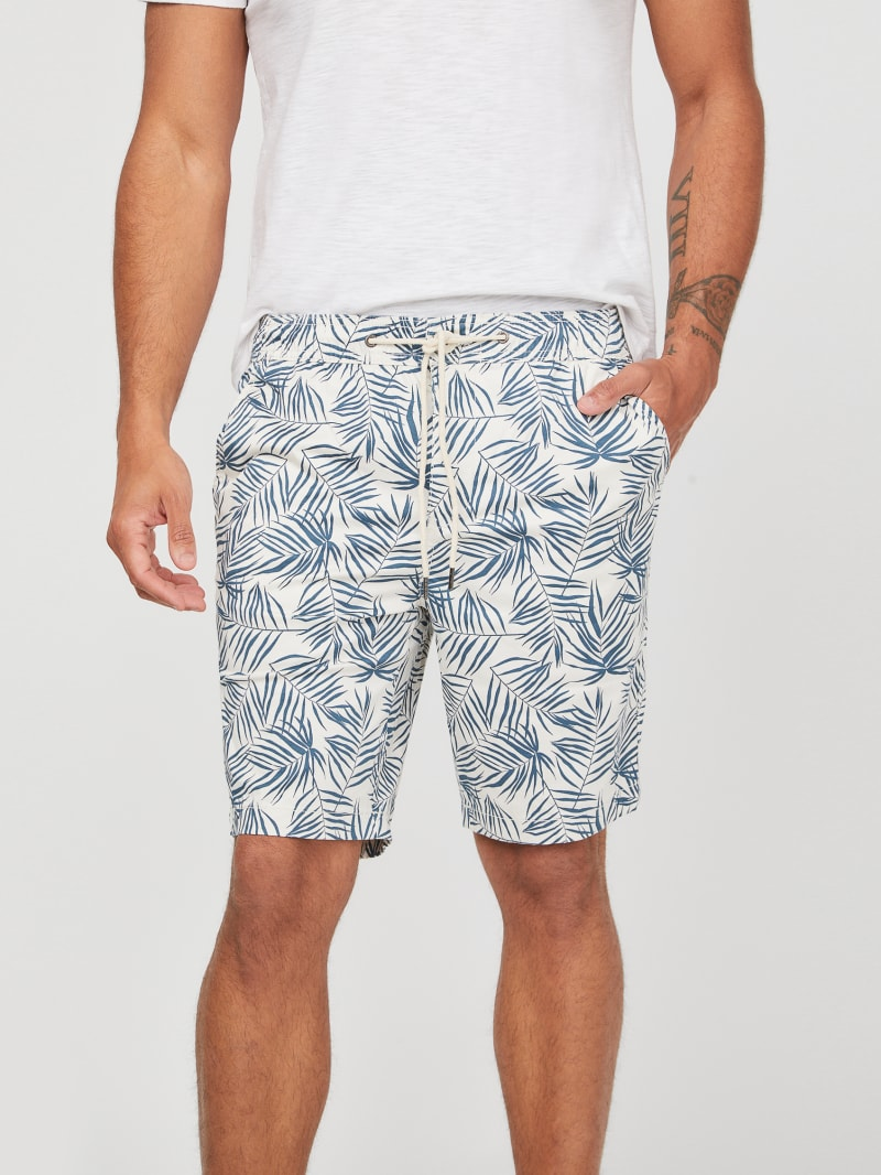 Griffin Printed Flat Front Shorts