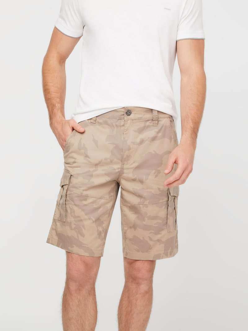 Cobrae Camo Cargo Shorts