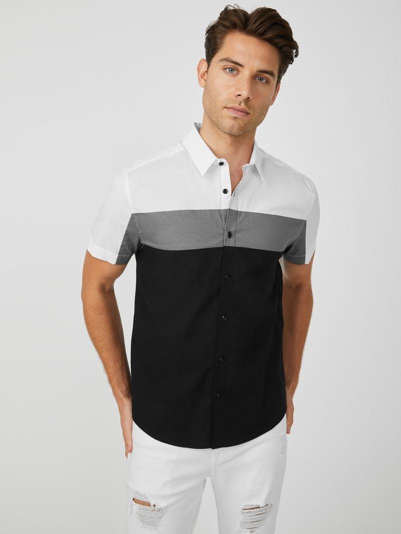 Alex Color-Block Shirt