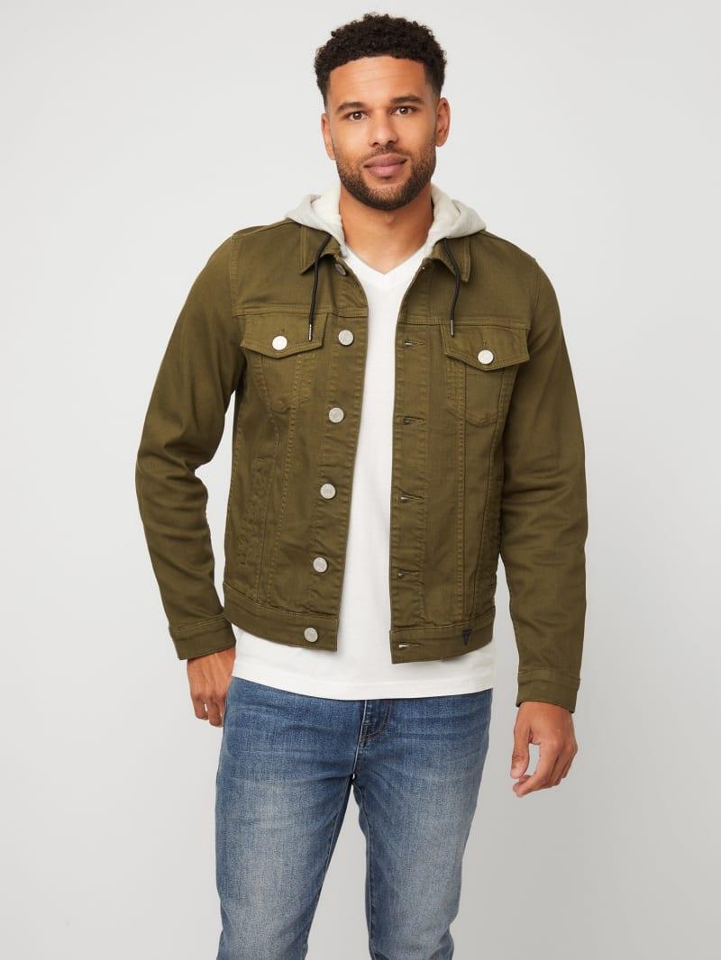 Blake Hooded Denim Jacket