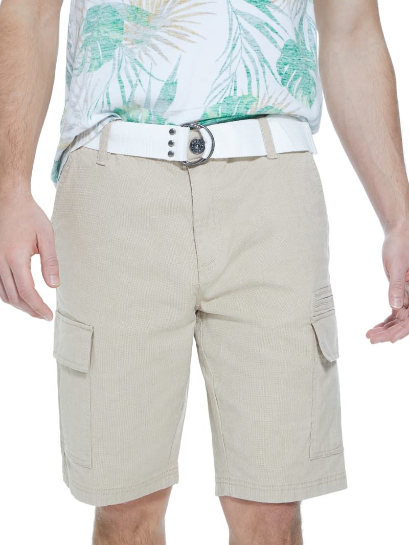 Steele Textured Cargo Shorts
