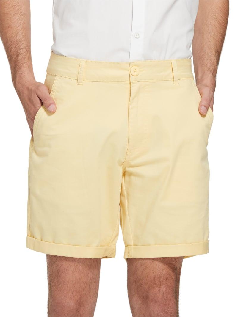 Happ Stretch Flat-Front Shorts