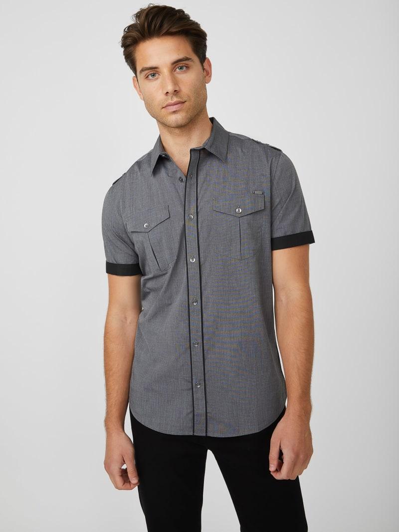 Amok Textured Short-Sleeve Shirt