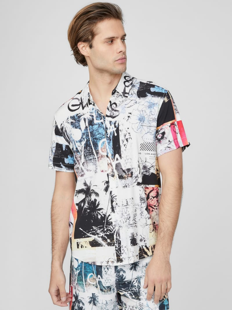 Jerome Graffiti Collage Shirt