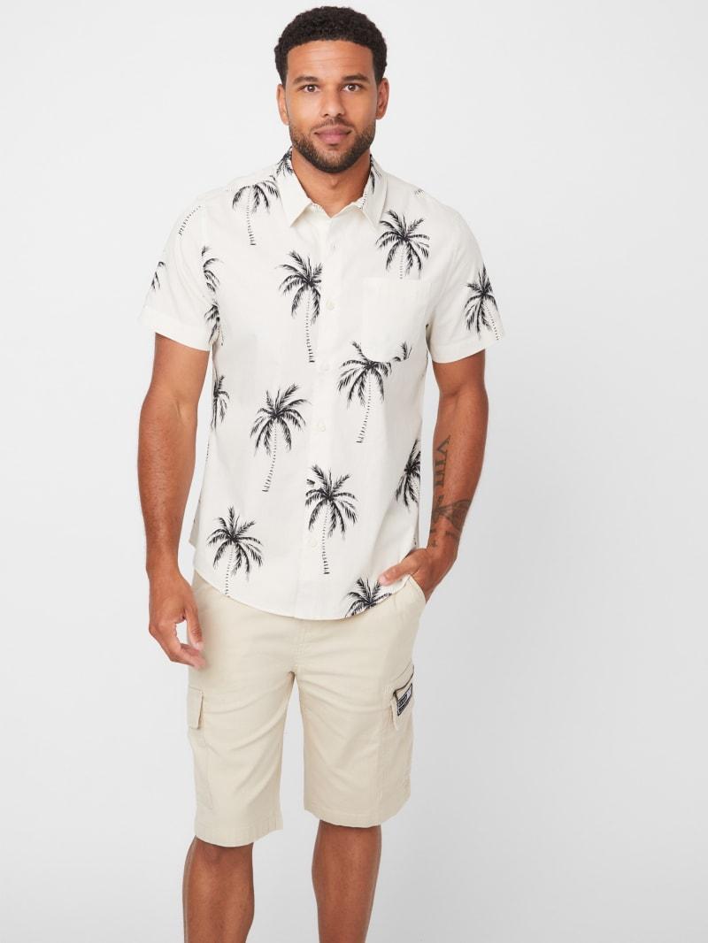 Cisco Palm Print Shirt