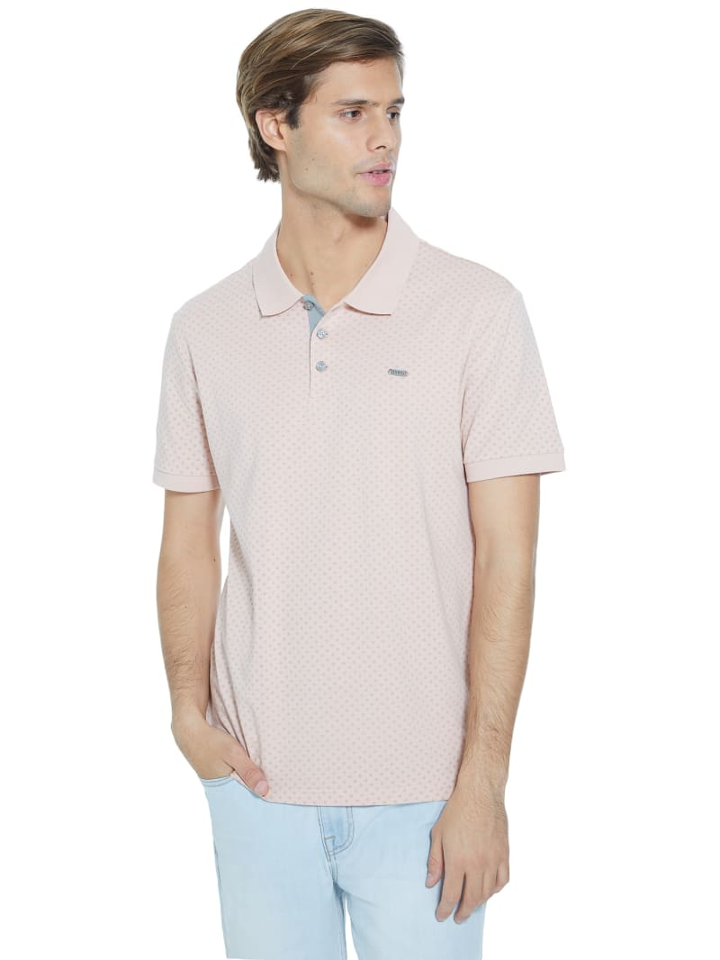 Ivan Geo Floral Polo