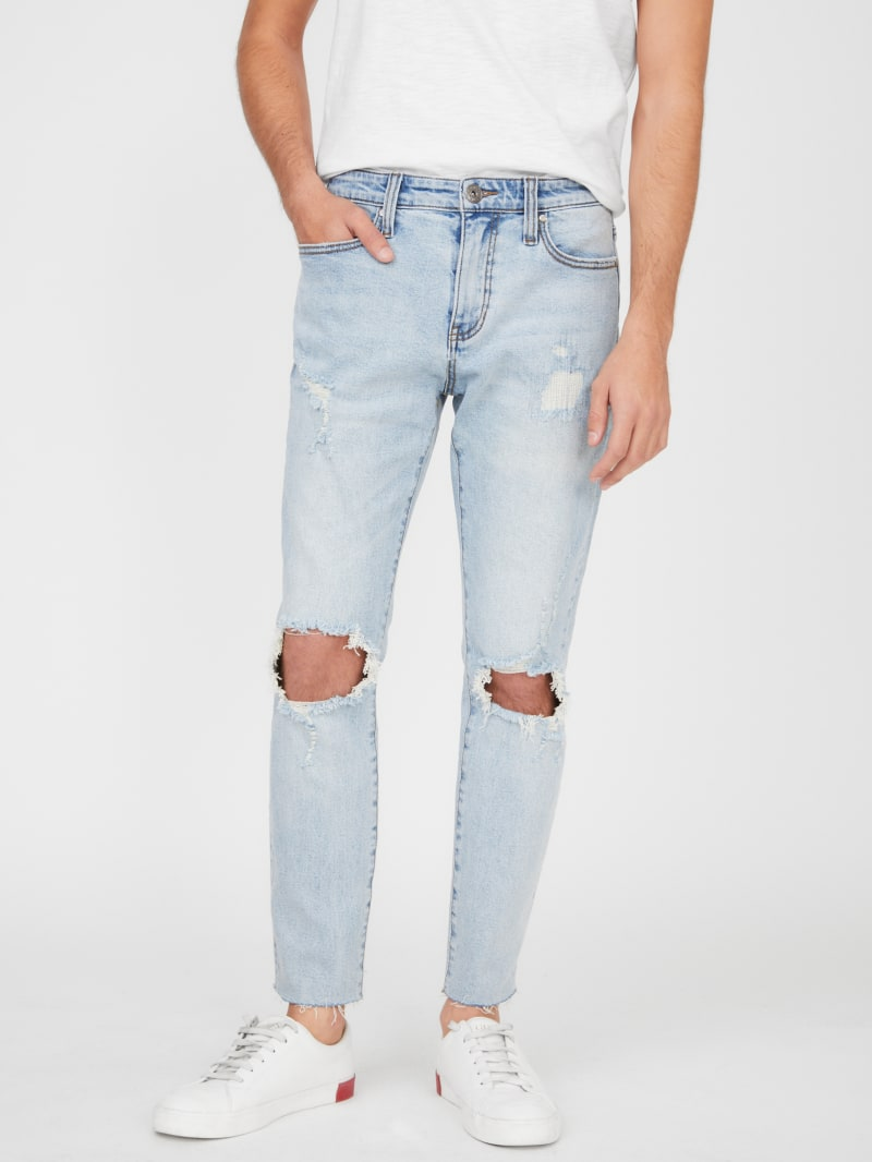 Lerman Destroyed Cropped Jeans