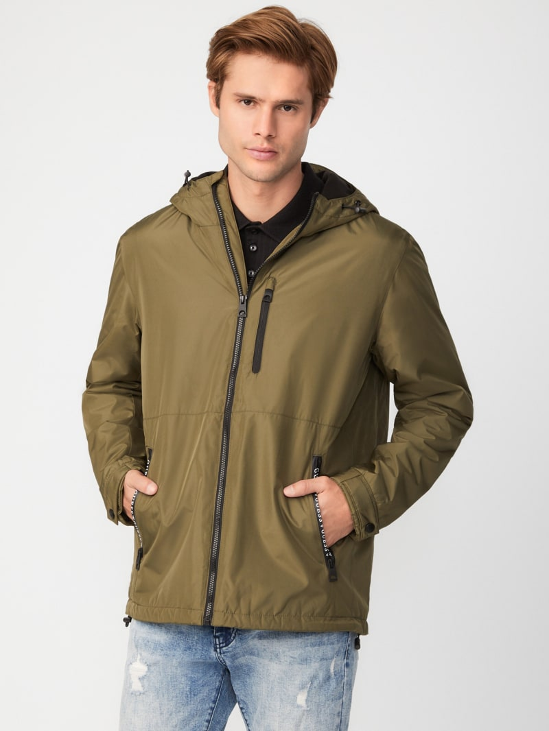 Marc Hooded Windbreaker