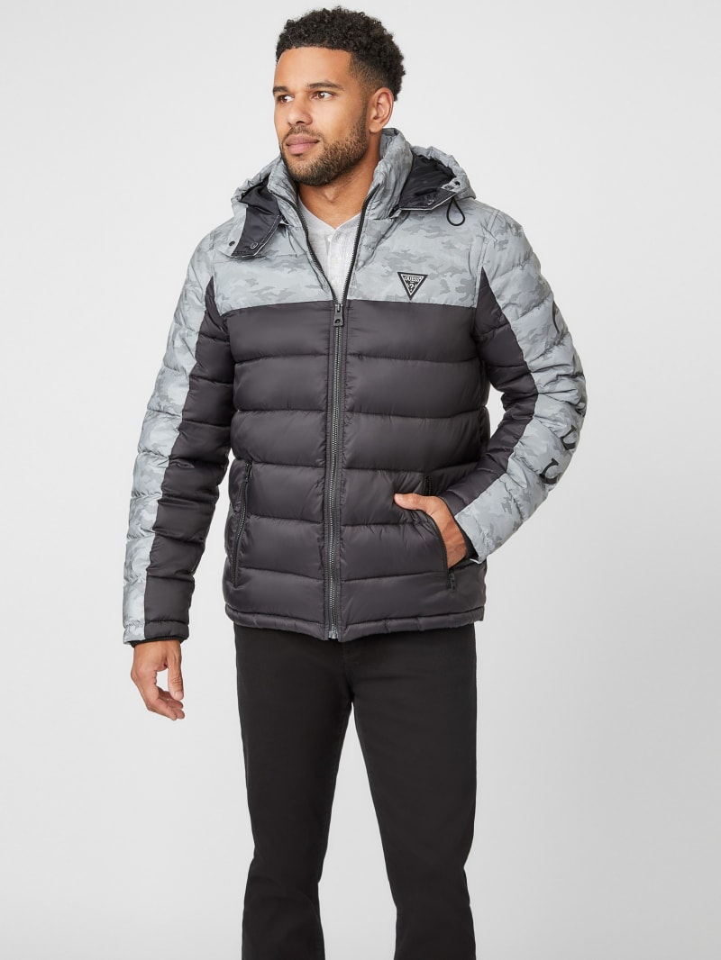 Arvin Reflective Camo Puffer Jacket