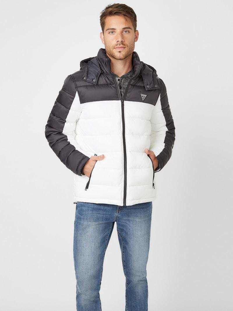 Arvin Color-Block Puffer Jacket