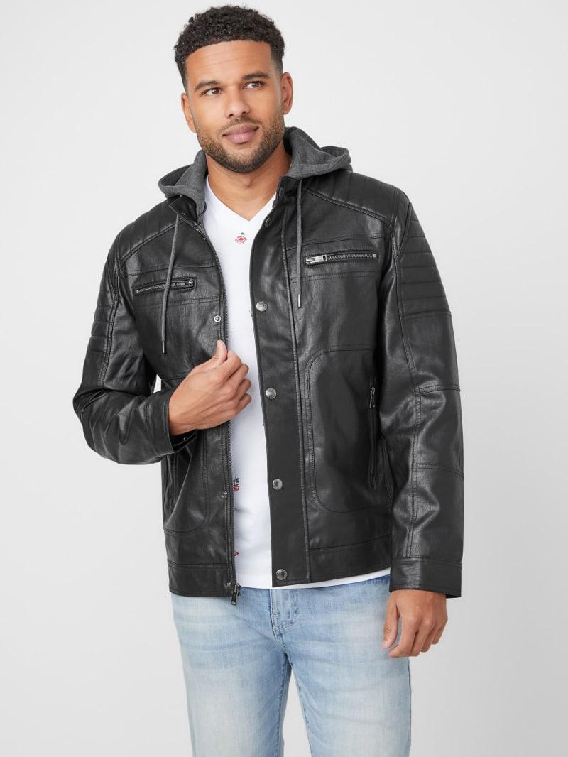 Uriah Faux-Leather Jacket