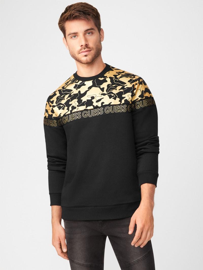 Ray Camo Crewneck Sweater