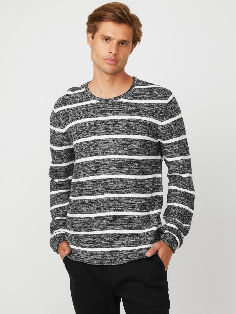 Kylo Striped Marled Sweater