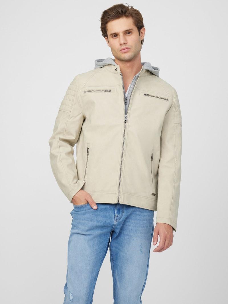 Cheston Faux-Suede Moto Jacket