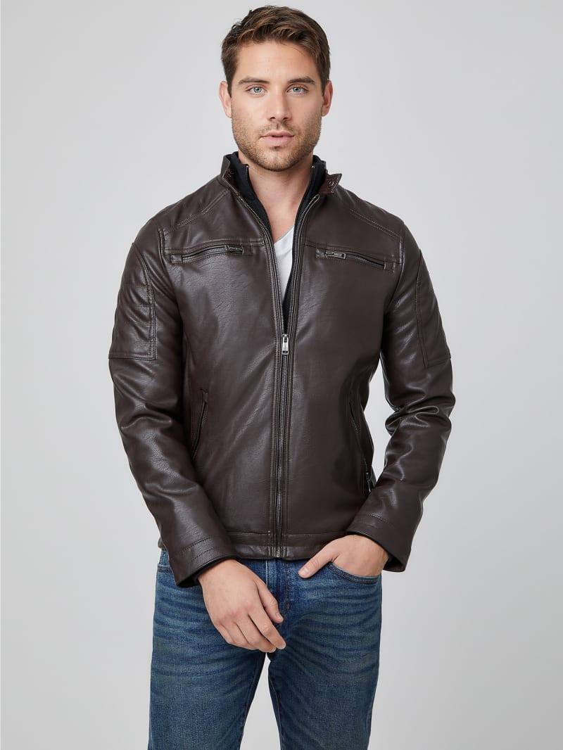 Alvin Faux-Leather Jacket