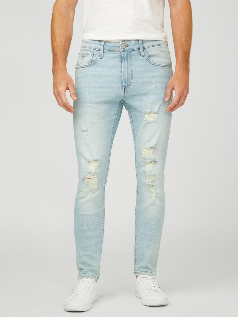 Eco Jaxson Distressed Skinny Jeans