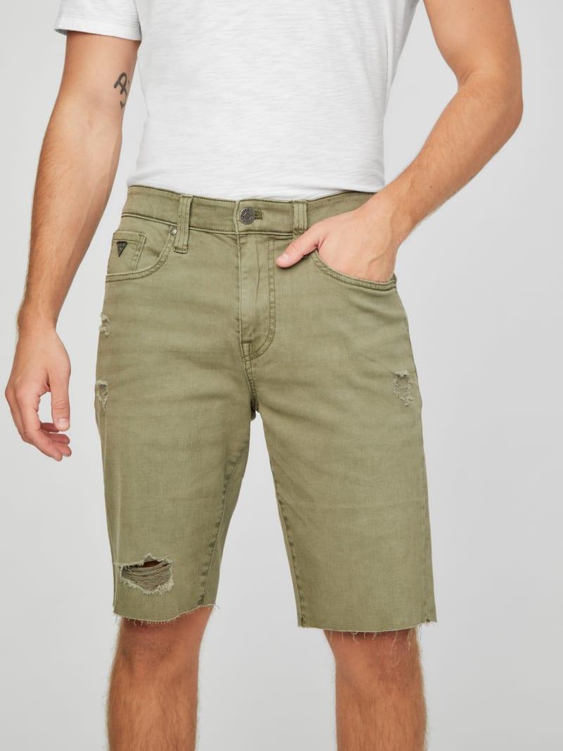 Marcus Distressed Denim Shorts