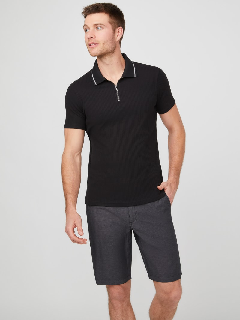 Victor Ribbed Polo