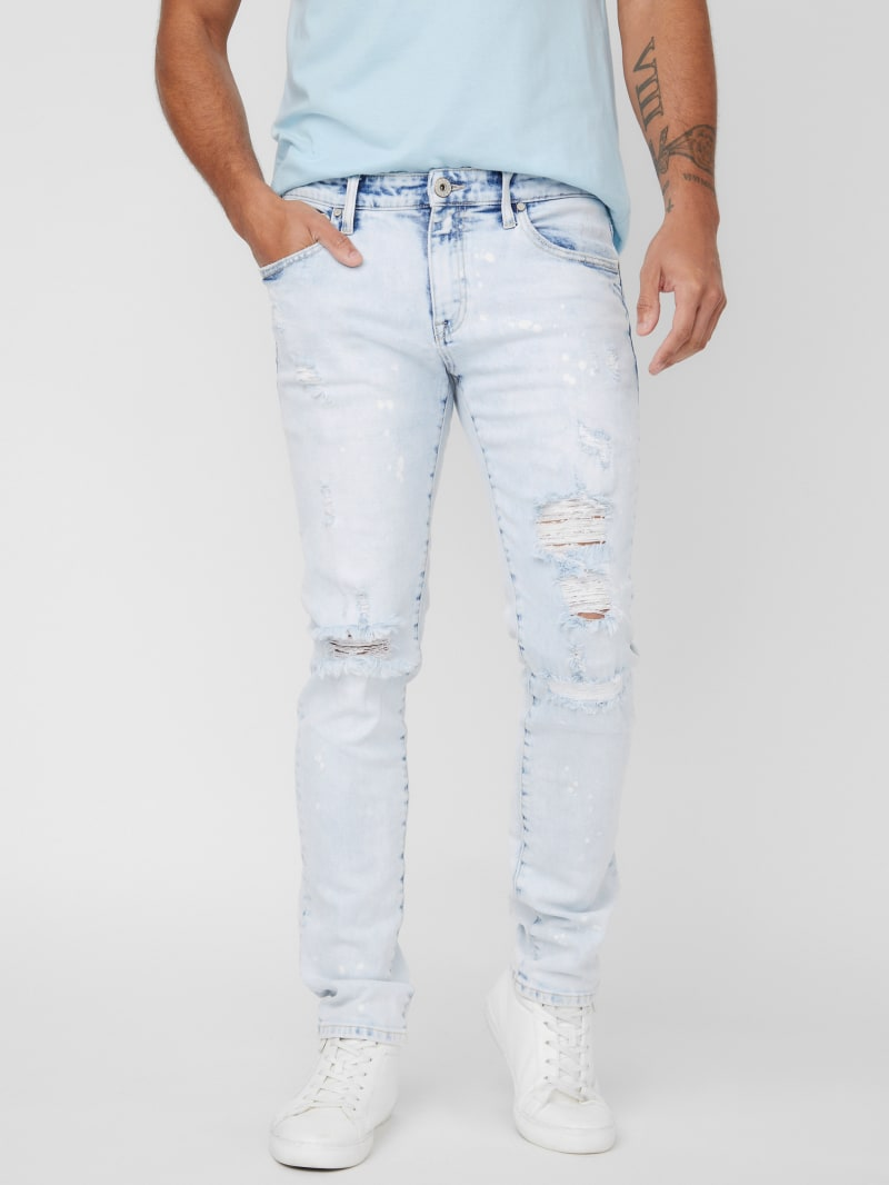 Gordon Destroyed Skinny Jeans