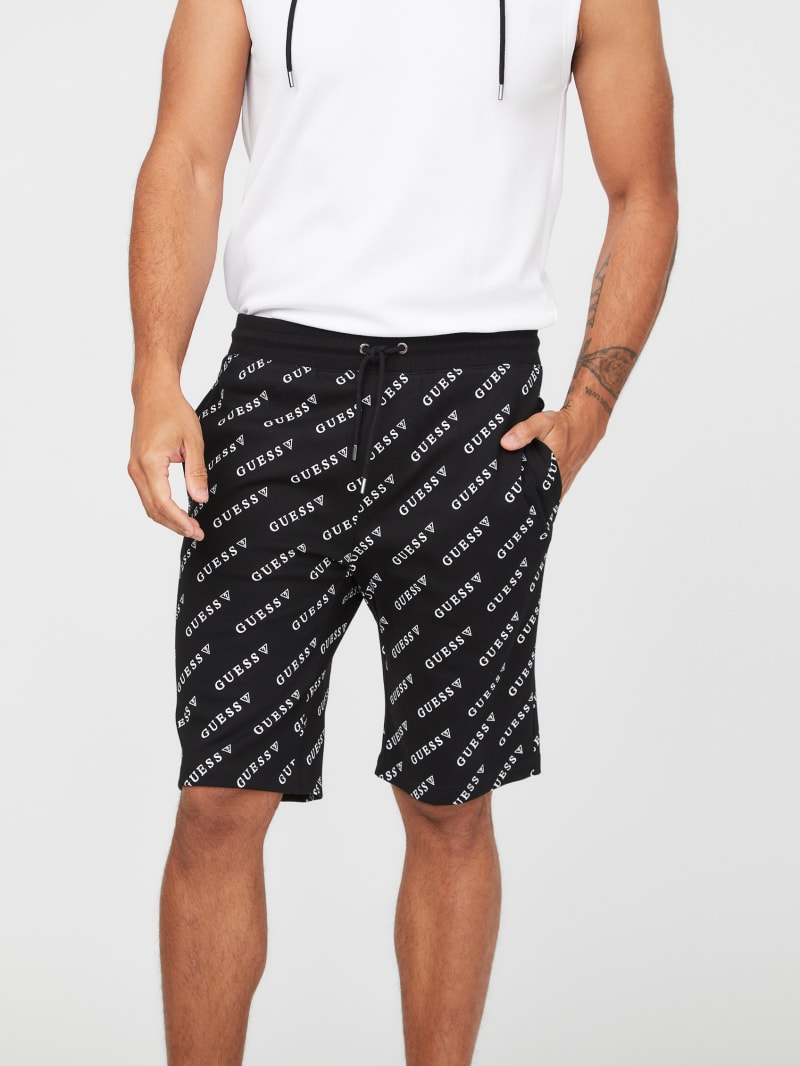 Russell Logo Pique Shorts