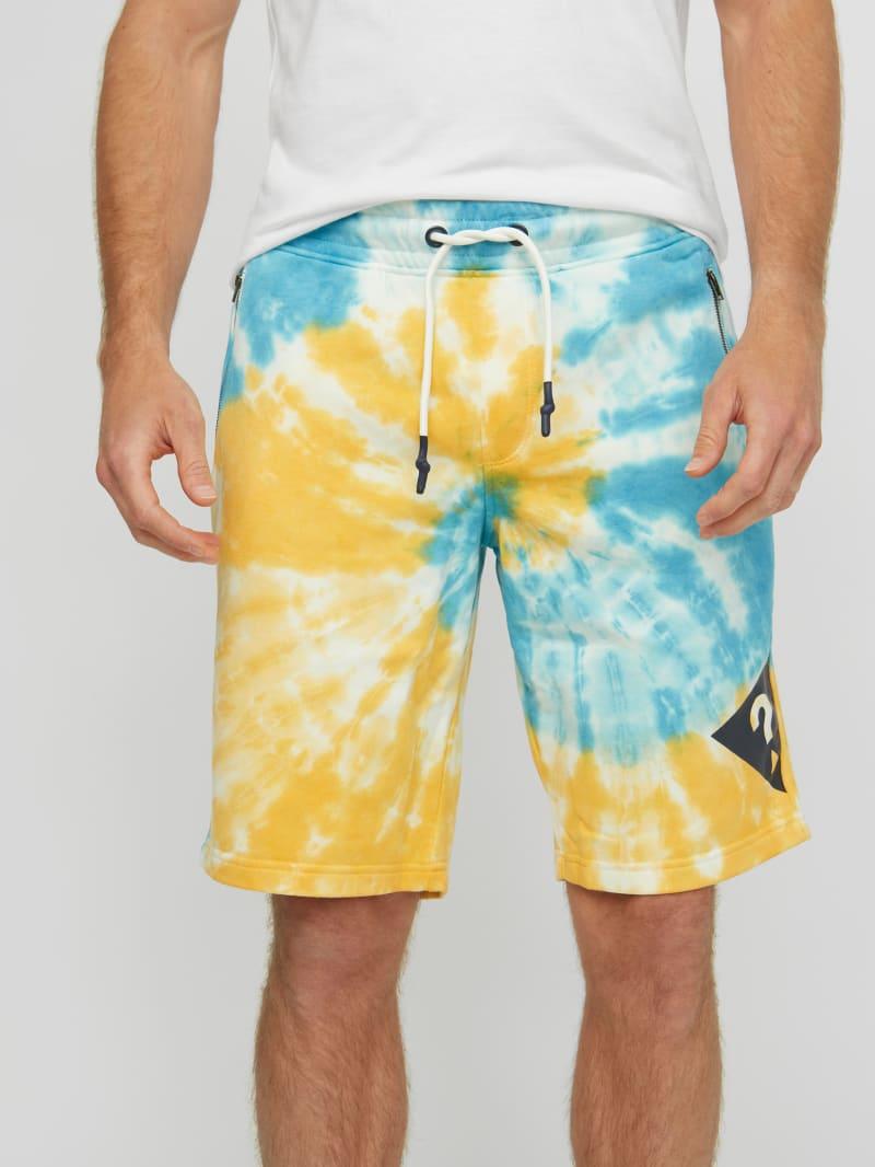 Alex Tie-Dye Logo Shorts
