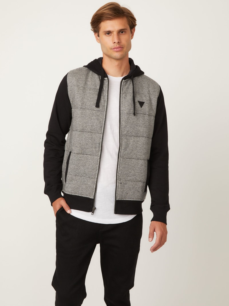 Luther Blocked Puffer Hoodie
