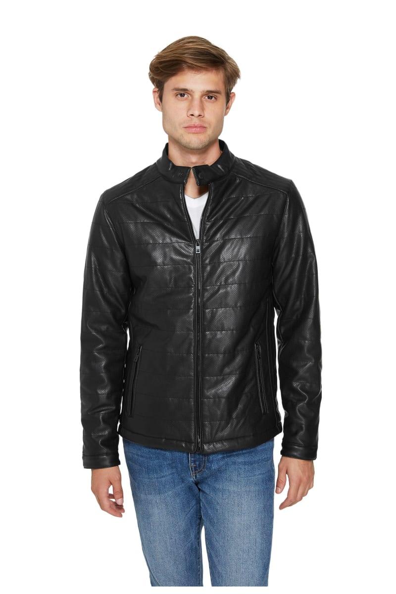 Smithley Perforated Moto Jacket