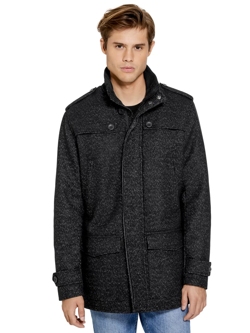 Nathan Long Wool Coat
