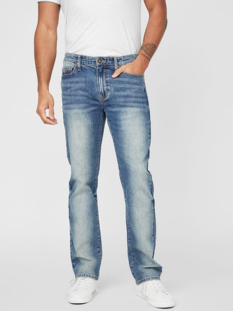 Crescent Straight-Leg Jeans