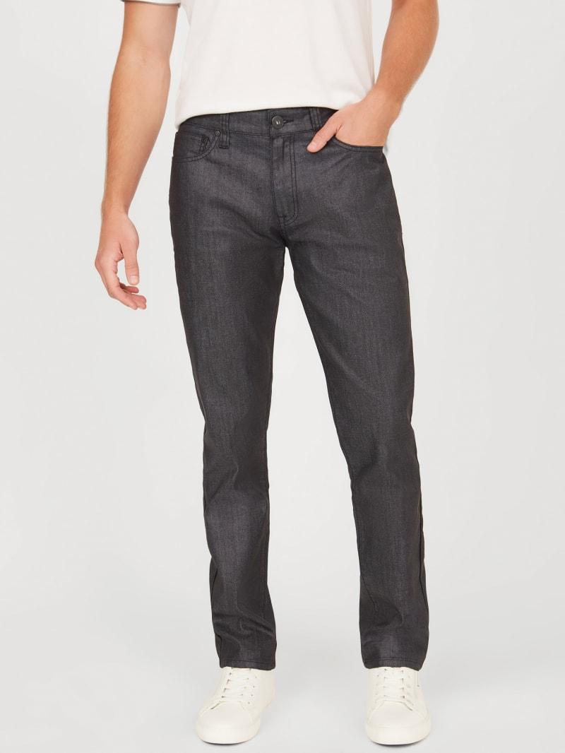 McCrae Coated Slim Jeans