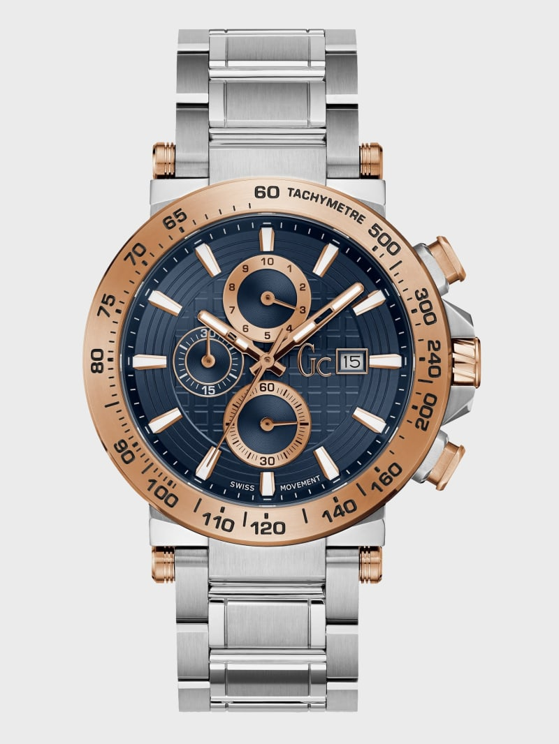 Multi-Tone Chronograph Watch