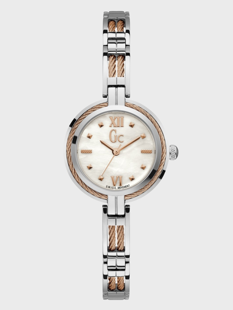 Cable-Twist Petite Two-Tone Watch
