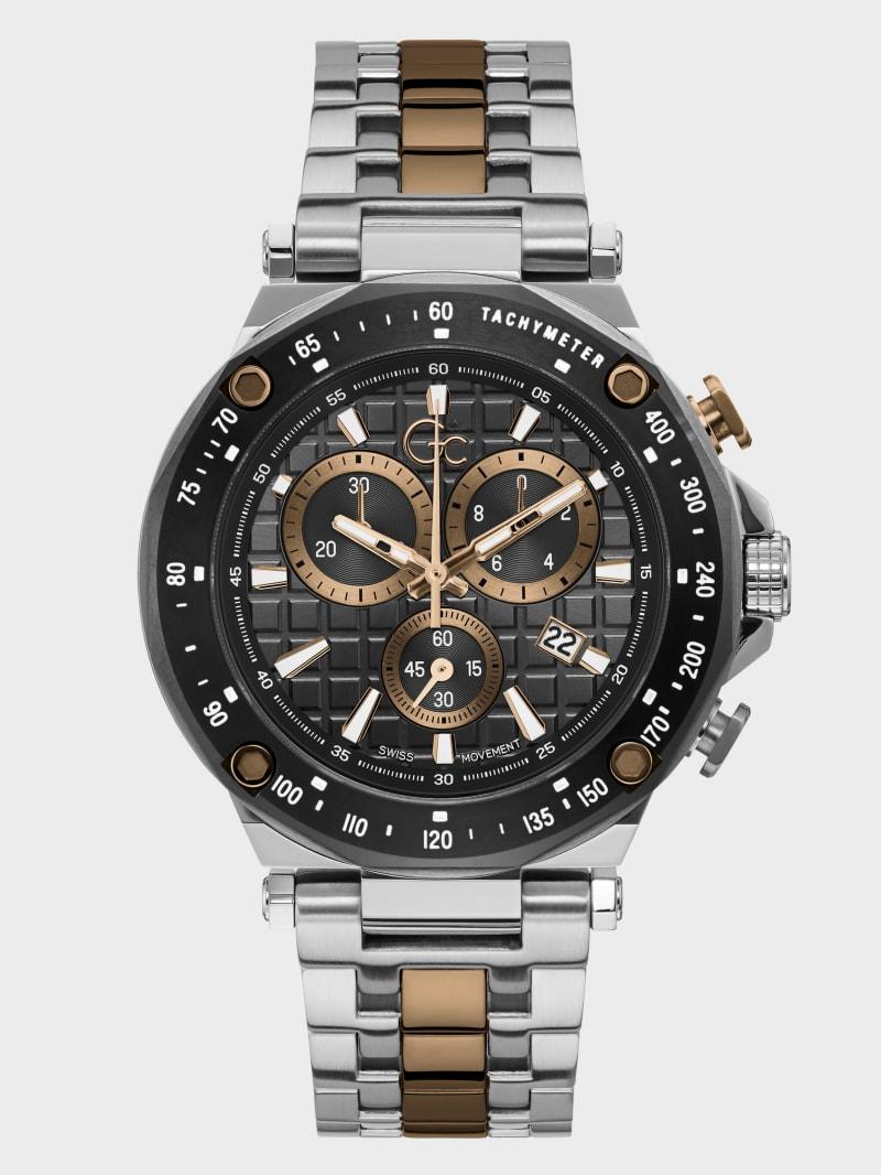 Gc Sport 2-Tone Chronograph Watch