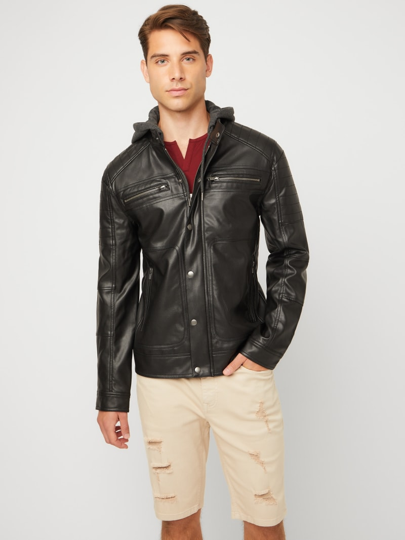 Uriah Faux-Leather Jacket