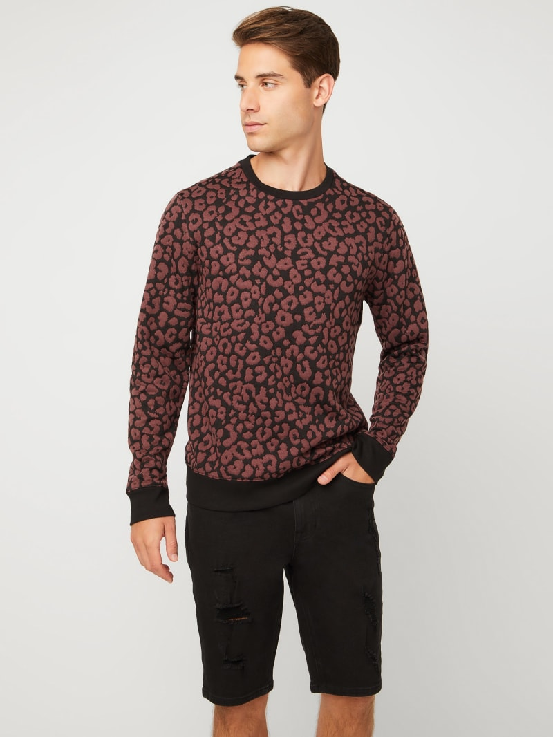 Cheetah Long-Sleeve Crew
