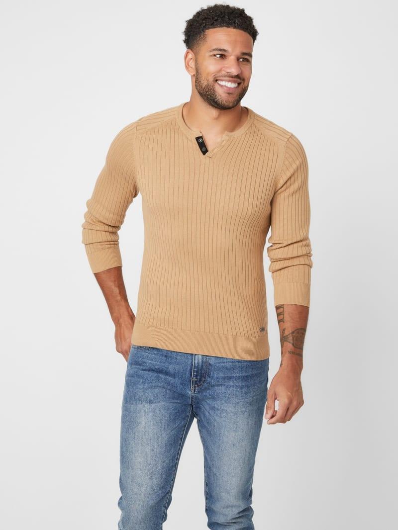 Sean Long-Sleeve Knit Shirt