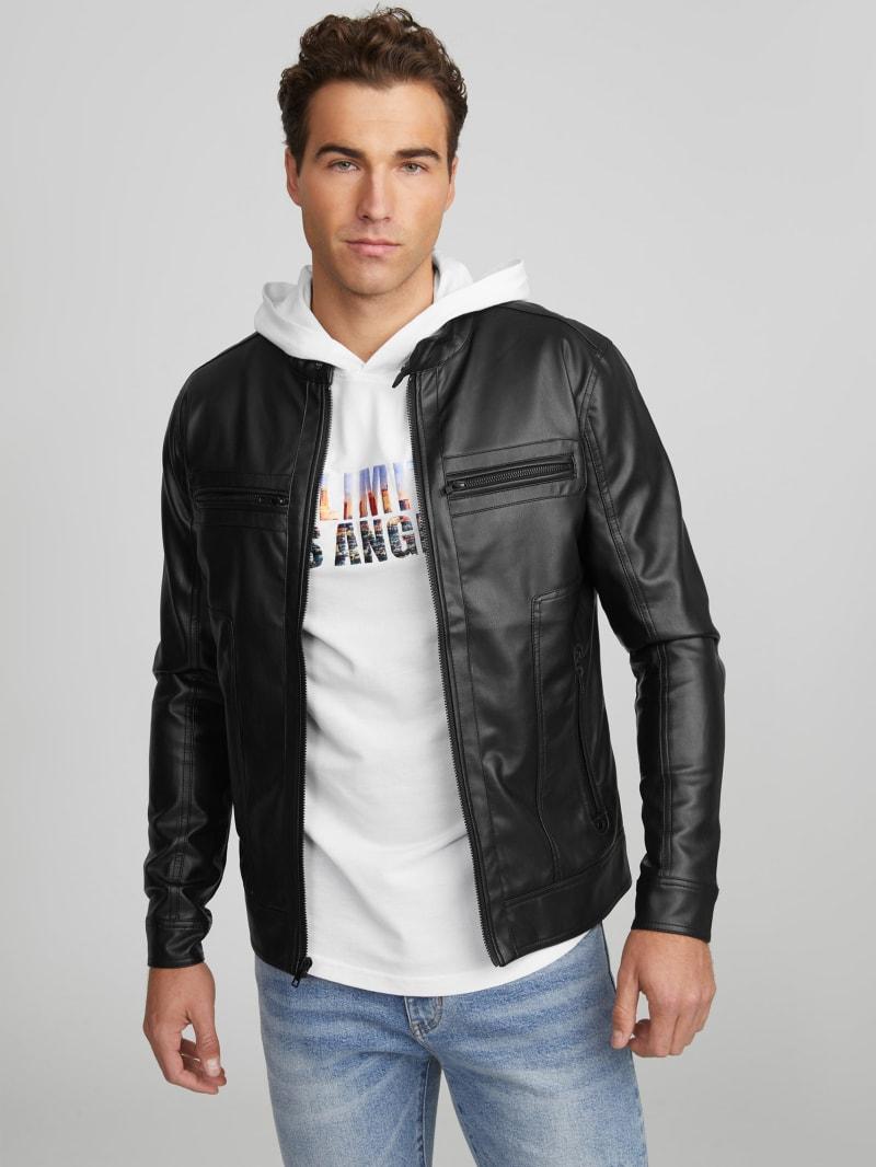 Hayward Faux-Leather Jacket