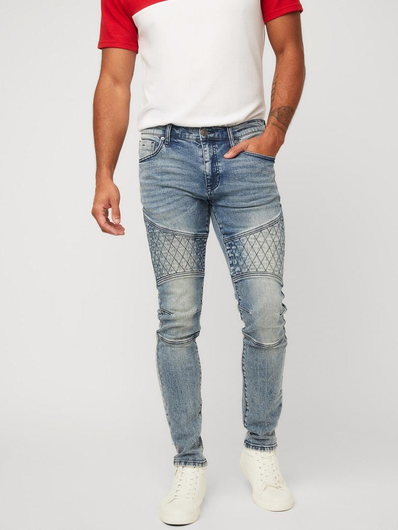 Shiloh Moto Super Skinny Jeans