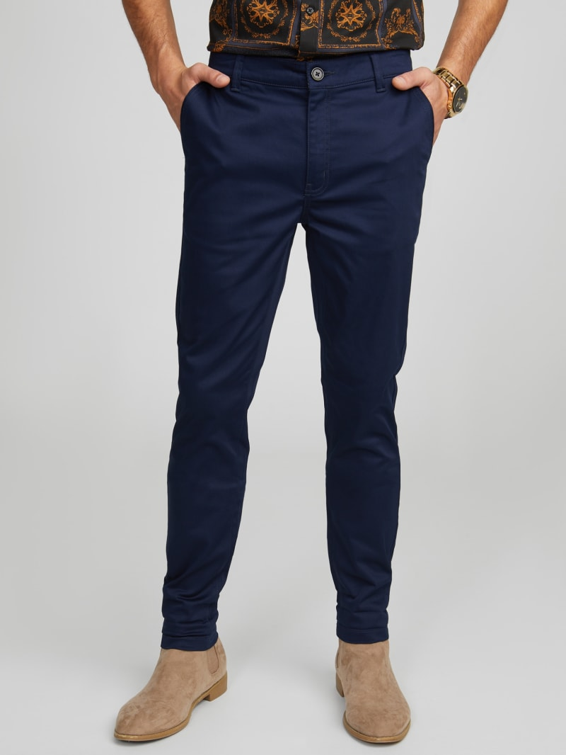 Silvestre Sateen Skinny Pants