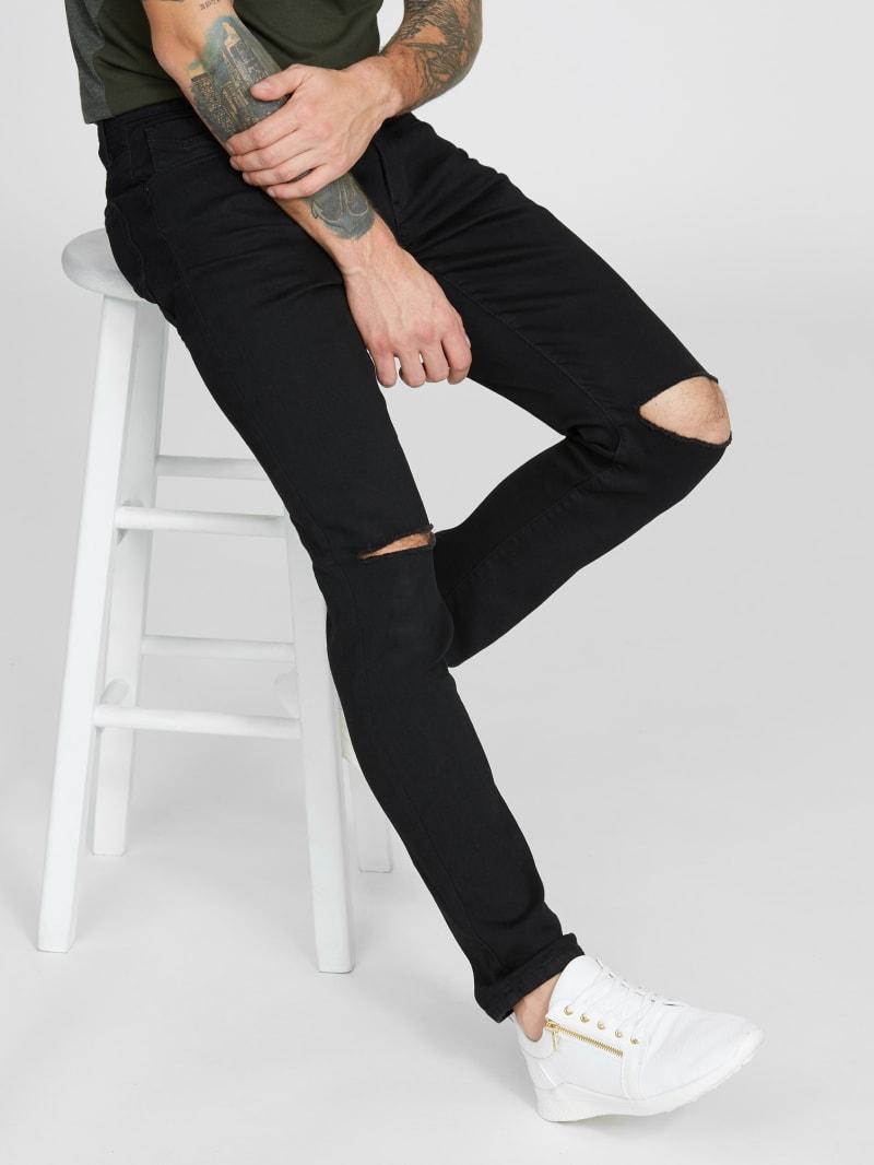 Blake Distressed Skinny Jeans