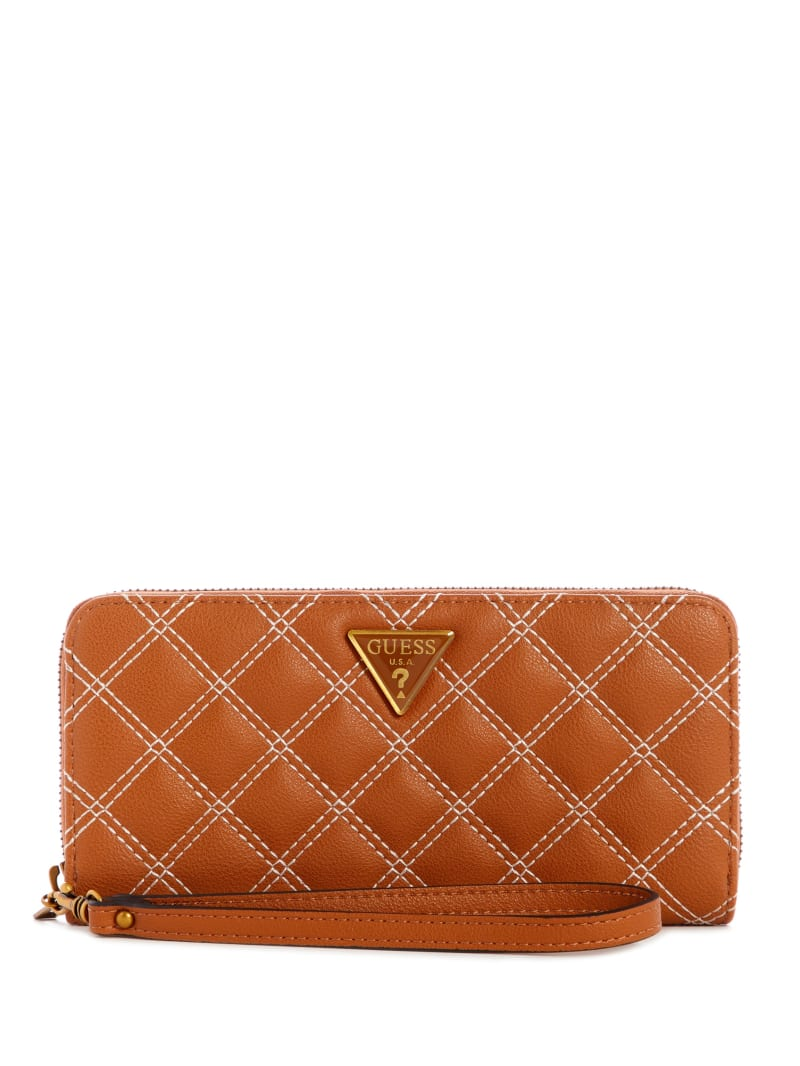 Cessily Quilted Large Zip-Around Wallet
