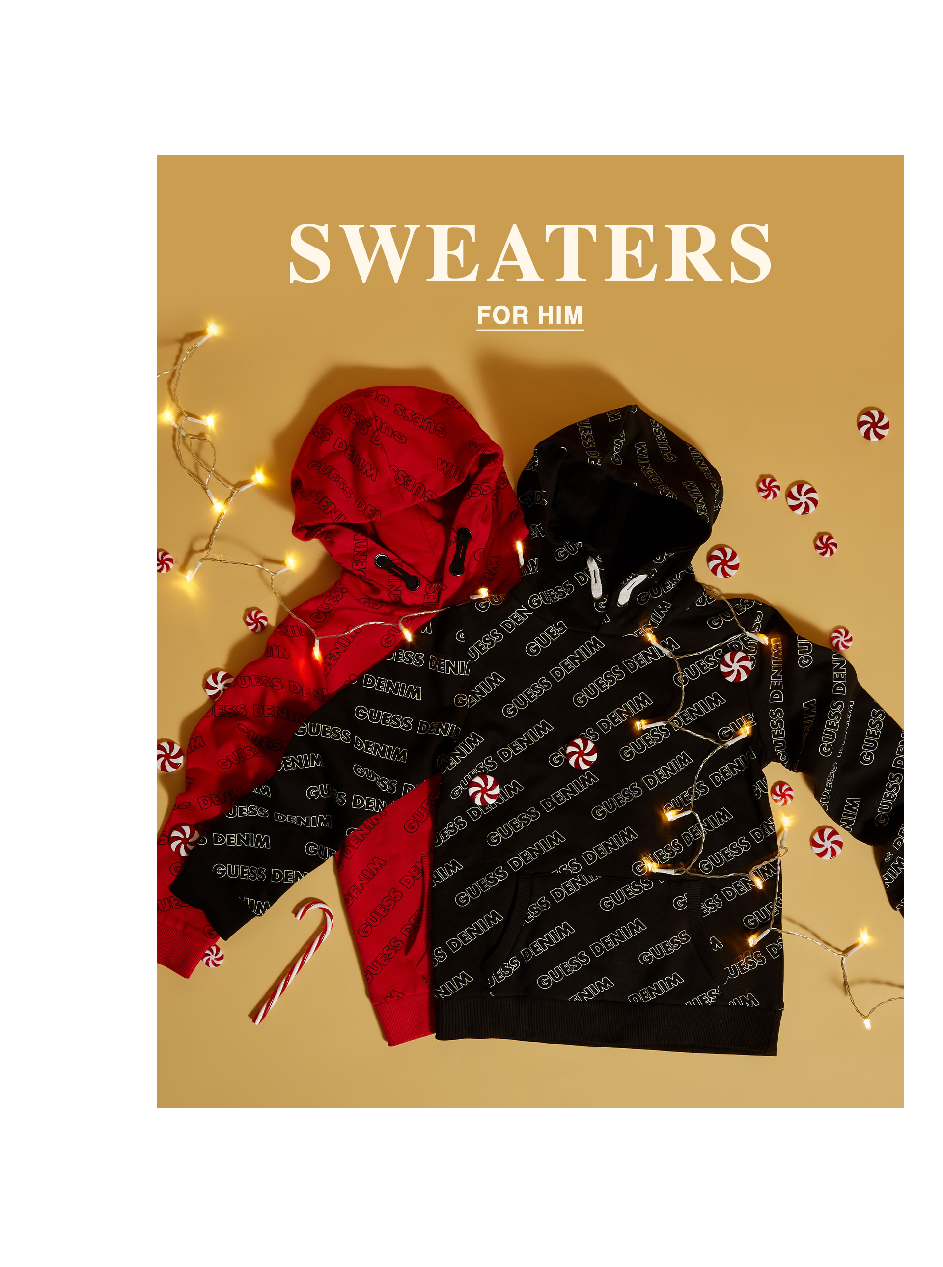 Sweaters & Hoodies for Him