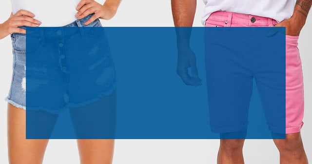 shop shorts for women and men